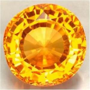 Brasil Oval Citrino Amarillo natural Lote de 6x4mm 5 un