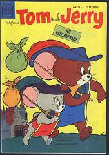 Tom y Jerry nº 13 de 1958-Top z1 original primero tirada tebeo Moewig