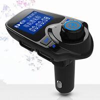 NEW Mp3 Player Wireless Bluetooth FM Transmitter Modulator HandsFree Car Kit T11