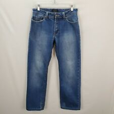 Ted Lapidus 30x27 Blue Straight Leg Jeans