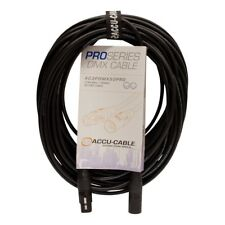 50FT 3- PIN DMX CABLE ACCU-CABLE PRO PRODUCTION GRADE
