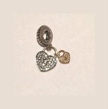 Genuine PANDORA Love Locks Pendant Charm 791807CZ FREE DELIVERY