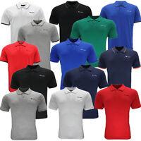 Champion Short Sleeve Mens Polo Shirt T-Shirt Top