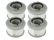 CHEAPEST GENUINE MSPA Hot Tub Filter Cartridges 2 x Twin Pack 4 Filters in total
