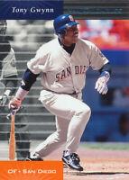 Tony Gwynn 2001 Donruss 1999 Retroactive #12 San Diego Padres card
