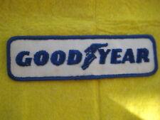 "Vintage Goodyear  NASCAR Drag NHRA Flag Racing  Patch 5 1/2"" X  1  5/8"""