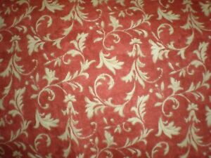 """""""Ornamental Scroll"""" Fabric Crafted with Pride in USA 100% Cotton 8.33 Yards 56""""W"""