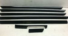 VW GOLF MK5  04-14 JETTA 06-11 SET of 7 Decorative Trims Interior GT SPORT DARK