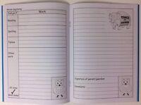School HomeWork Diary Primary KS1/KS2 Home Teaching Motivational Record Spelling