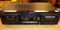 Sony TC-WR535  Double Cassette Deck Stereo Tape Recorder PARTS OR REPAIR(C7-1)