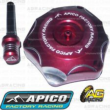 Apico Red Alloy Fuel Cap Breather Pipe For Honda CRF 100 2012 Motocross Enduro