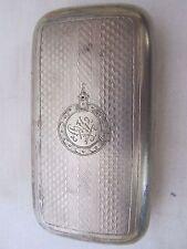 "Rare Antique Imperial Russian Cigarette Case ""ROYAL"" CARSKY"