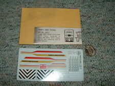 Miller Herald King  decals HO L-611 Family Lines dk grey disel switcher F104