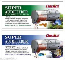 Fd022 Classica Super Autofeeder acuario peces tanque Auto alimentador de vacaciones de alimentos