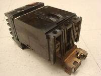 USED Square D FA24030AC I-Line Circuit Breaker 30 Amps 480VAC 2 Pole Black Face