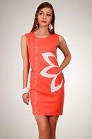 Women's Classic & Elegance Dress with Flower Motive Tunic Style Size 8-16 FA07