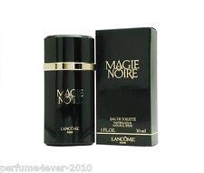 MAGIE NOIRE LANCOME PERFUME 1.0 1 OZ EDT SPRAY NIB NOT SEALED 70 % FULL
