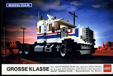 Lego--Modelteam-- Grosse Klasse --Werbung von 1990-