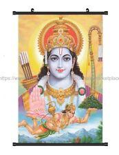 wall hanging Lord Hanuman Hindu Gods wall scroll cloth poster