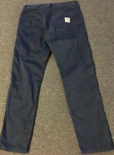 Carhartt WIP Skill Pants 32/32 Navy Vtg 90s Polo Sport Work Straight Jeans Chino