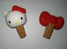 Hello Kitty Wine Stopper Cork Set