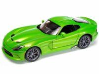 DODGE SRT Viper GTS - 2013 - greenmetallic - Maisto 1:18