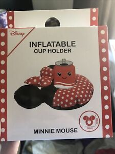 PRIMARK Disney Mickey Minnie Mouse Inflatable Cup Drinks Holder Pool Party Beach