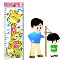 Height Growth Chart Wall Sticker Decal Vinyl Nursery Kids Baby Bedroom Decor