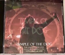 Temple Of The Dog Live CD Excellent Sound Seattle, Washington  11/21/2016