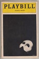 "Mark Jacoby  ""Phantom of the Opera""  Playbill 1991  Hugh Panaro, Karen Culliver"