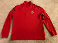 St. Louis Cardinals Nike Golf Long Sleeve Dri Fit Medium 2011 World Series 1/4