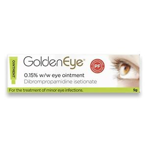 GoldenEye 0.15% Eye Ointment 5g - FAST & FREE UK DELIVERY