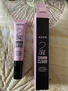 NEW Avon 2 In One Cushion Cloud - Creamy Lip & Cheek Colour - Sugar & Spice £8