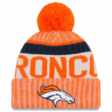 44e30f63be8 YOUTH Denver Broncos NFL New Era 2017 Sideline Official Sports Knit Hat  Beanie