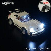 Kyglaring LED Light for LEGO 75895 speed series 911 Turbo 3.0 Car Beleuchtungs