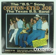 SEALED COTTON EYED JOE B.S.Song Texas Band DIRTY LINE DANCING Square Dance 1981