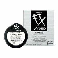 Santen Sante FX Neo Cool Eye Drops Japanese Eyedrops 12ml NEW F/S
