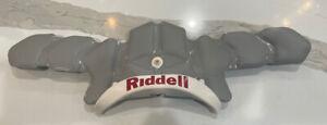Riddell Revo SPEED Football Helmet Rear Bumper Bladder Pads Medium Gray