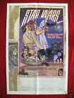 STAR WARS * 1977 ORIGINAL MOVIE POSTER *AUTHENTIC STYLE D* DARTH VADER HALLOWEEN
