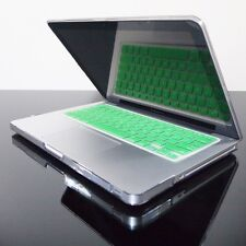 GREEN Silicone Keyboard Cover for Macbook Pro 13 15 17