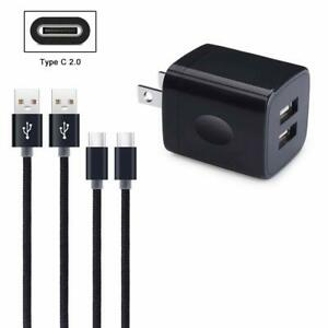 For SAMSUNG GALAXY GRAND PRIME + Fast US Wall Charger Plug Type C USB Data Cable