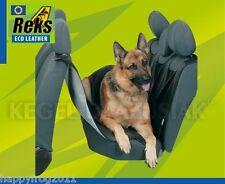 EcoLEATHER Car Rear Back Seat Cover Pet Dog Cat Protector Hammock Mat Liner REKS