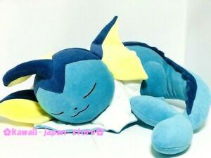 Pokemon Center Original Plush Doll Sleeping Vaporeon (Showers) with Official Tag