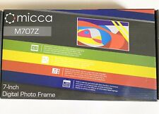 New micca M707Z 7 Inches 800x480 High Resolution Digital Photo Frame
