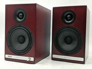 Open Box Audioengine HD6 Wireless Bookshelf Speakers - Cherry -NR2237