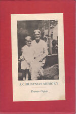 A CHRISTMAS MEMORY-1ST EDITION/1ST PRINTING-TRUMAN CAPOTE-1956-BEAUTIFUL COPY/GR