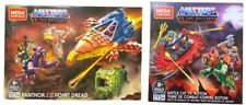 Mega Construx MOTU Battle Cat vs Roton & Panthor at Point Dread Brand New HTF