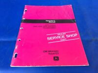 Original Vintage 1974 John Deere 300 400 500 600 Snowmobile Owners Op Manual