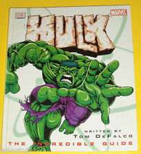 Hulk – The Incredible Guide 2003 Large First Edition Great Illustrations! See!