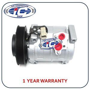 A/C Compressor Fits Chrysler Voyager 01-03 Dodge Caravan 01-07 2.4L 10S20C 77301